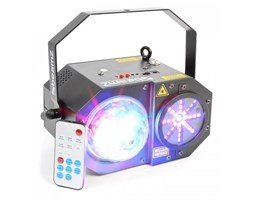 Beamz Sway laser kropkujący LED RGBW RG 150mW