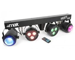 MAX LED-Partybar 2xLED PAR-RGBW + jelly ball RGBW statyw  pilot IR