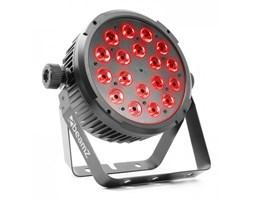 Beamz BT320 LED Flat Par reflektor LED diody LED 18x6W 4-w-1 RGBW pilot
