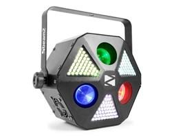 Beamz MadMan Projektor LED 132 diody SMD LED RGB 3 w 1 tryb DMX lub standalone