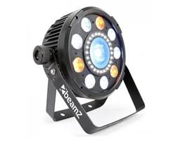 Beamz BX94PAR 9x6W 4-w-1 LED RGBW stroboskop z 24 LED SMD pilot