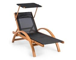 Blumfeldt Panamera Leżak ogrodowy z dachem siateczka ComfortMesh Nośność: 150 kg kolor czarny