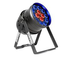 Beamz BPP225 PAR 64 reflektor projektor LED 6-w-1 RGBWA-UV 200W czarny