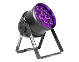 Beamz  BPP230 PAR 64 reflektor projektor LED 14x15W LED-UV 150W DMX/stand-alone czarny