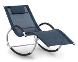 Blumfeldt Westwood leżak bujany, ergonomiczny, aluminium, ciemnoniebieski
