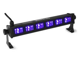Beamz BUV63 Listwa LED 6 diod LED UV o mocy 3 W, czarny