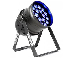 Beamz BPP205 LED Par 64 18 diod LED 15 W 5 w 1 z RGBAW-UV