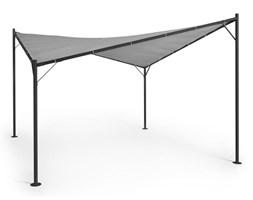 Blumfeldt Sombra, pergola, kompletny zestaw, 4 x 4 m, dach poliestrowy, szary