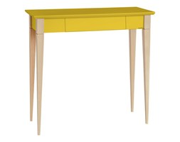 Biurko Mimo 65x40 cm żółte