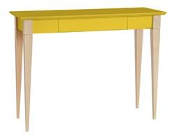 Biurko Mimo 105x40 cm żółte