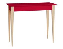 Biurko Mimo 85x40 cm czerwone