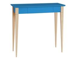 Biurko Mimo 65x40 cm niebieskie