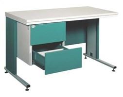 Metalowe biurko lekarskie Bim 212s