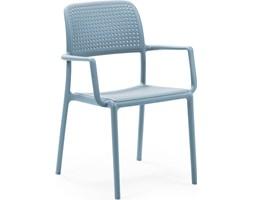 Krzesło ogrodowe Bora błękitne