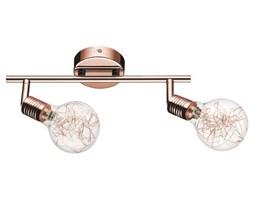 Lampa BULBS listwa sufitowa 2pkt żarówki miedziano - szklane