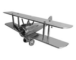 Samolot 25x37x15 cm Miloo Home Uptown srebrny kod: ML5113