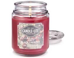 Świeca zapachowa Candle-lite duża w szkle 510 g - Juicy Black Cherries