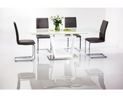 Stół Lauren Biały/Biały Lakier 140(180)X85