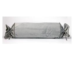 Szara poszewka na poduszkę WeLoveBeds Silver Candy, ⌀ 20x58 cm