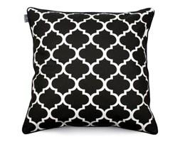 Czarno-biała poszewka na poduszkę WeLoveBeds Clover, 60x60 cm