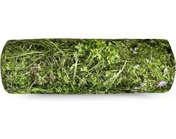 Poduszka z wypełnieniem z łusek gryki Foonka 50 x 15 cm wałek alpejska łąka