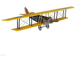 Authentic Models :: Model samolotu Jenny JN-7H Classic barnstormer, średni