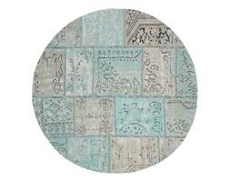 Dywan okrągły MILANIA 150x150 kolor niebieski