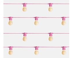 Seletti :: Lampki ogrodowe Bella Vista Pink (mleczne żarówki LED)