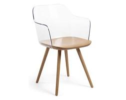 Krzesło KENDRIK 56x56 kolor transparentny