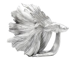 Figurka Betta Fish srebrna