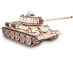 Eco-Wood-Art 600-częściowy, drewniany zestaw modelarski T-34 Tank
