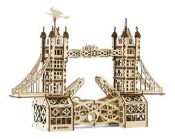 Mr. PlayWood Drewniany model Tower Bridge, zestaw 312 elementów