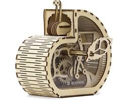 Mr. PlayWood Drewniany model ślimaka skarbonki, zestaw 83 elementów