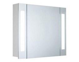 Szafka łazienkowa SIMONE wisząca z lustrem oświetlenie led