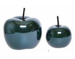 Jabłka ceramiczne GREEN komplet dekoracji 2 szt.