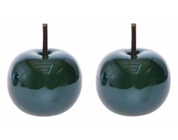 Jabłka szmaragdowe ceramiczne kompl. 2 szt.