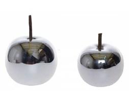 Srebrne jabłka ceramiczne SILVER komplet 2 szt.