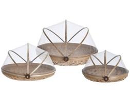 Koszyk do chleba z włókna bambusowego, praktyczny, kuchenny pojemnik na żywność.