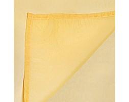 Półprzezroczysta firana na szelkach Luciana, 140x245 cm, żółty