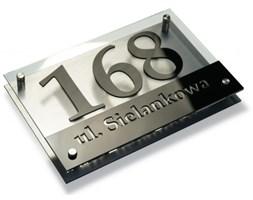 Tabliczka z numerem domu aluminium 20x30