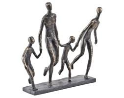 Rzeźba Four Ayrton 31 cm brąz rodzina rodzice z dziećmi