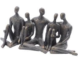 Rzeźba All ludzie siedzący brąz