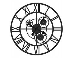 """Duży zegar metalowy """"Tryby"""" z02/60/c"""