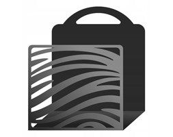 """Gazetownik metalowy """"Zebra"""" g24"""
