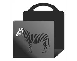 """Gazetownik metalowy """"Zebra"""" g25"""