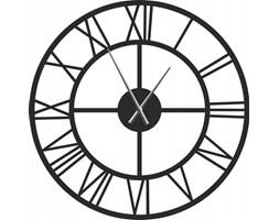 Zegar metalowy roma 100cm loft