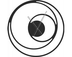 Zegar metalowy spirala 60cm