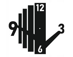 Zegar metalowy z14 modern 50cm