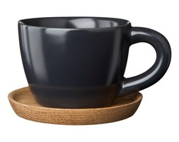 Filiżanka espresso szara matowa 100 ml Hoganas Keramik