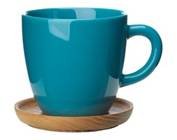Filiżanka do kawy kolor morski 330 ml Hoganas Keramik